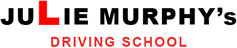Julie Murphy's Driving School logo